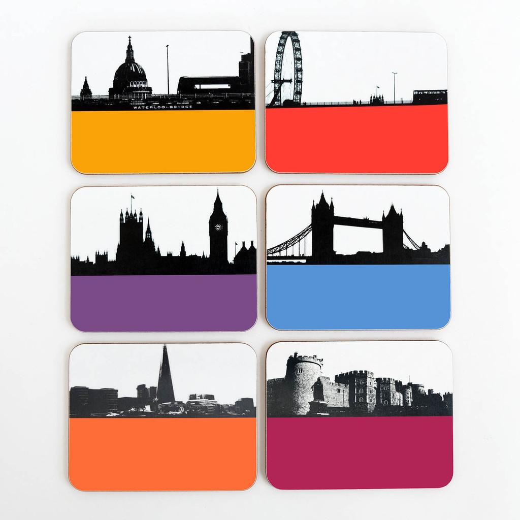 Jacky Al-Samarraie London Drinks Coaster Offer Pack 3