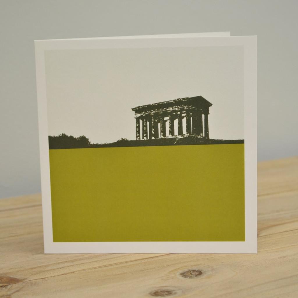 Jacky Al-Samarraie Penshaw Monument - Sunderland Green Greeting Card