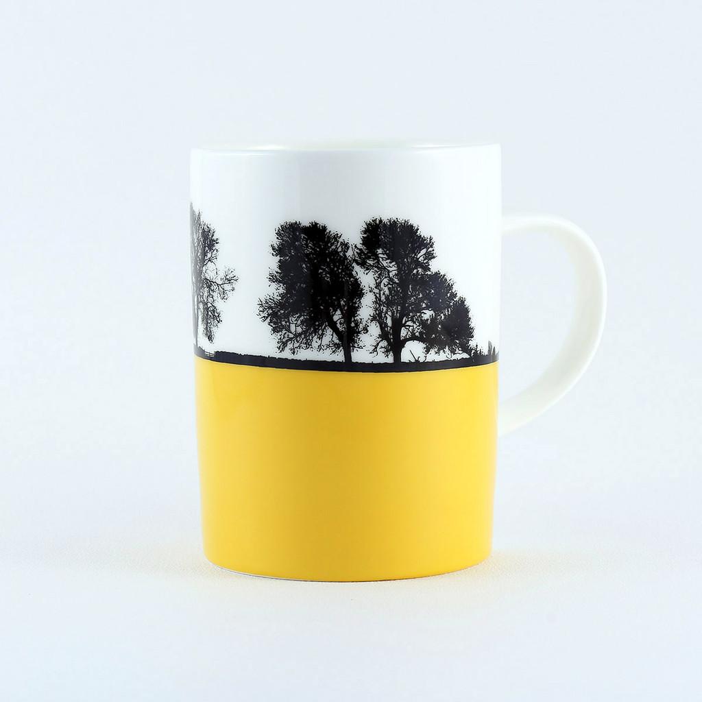 Bone china landscape mug, Masham North Yorkshire by The Art Rooms