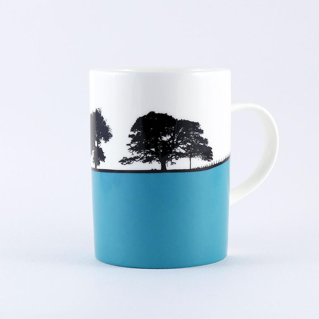 Cheltenham landscape mug  by Jacky Al-Samarraie
