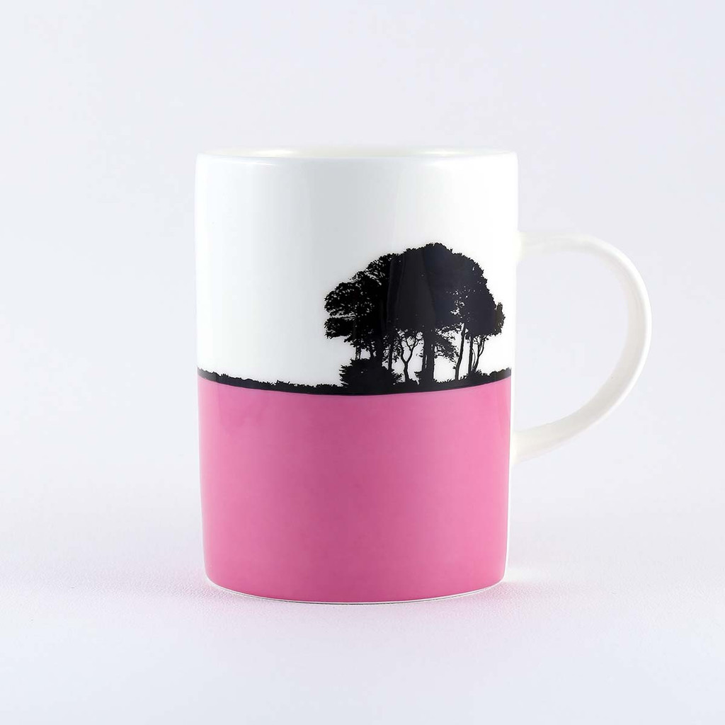 Fine bone china Chipping Sodbury landscape mug, by The Art Rooms