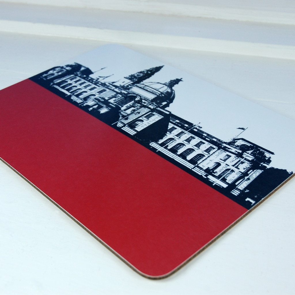 Jacky Al-Samarraie Cardiff City Hall Table Mat