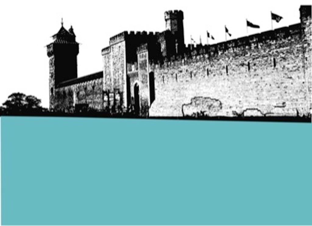 Jacky Al-Samarraie Cardiff Castle Table Mat