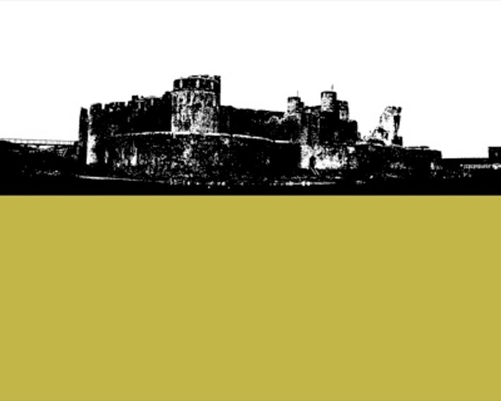 Jacky Al-Samarraie Caerphilly Castle Greeting Card
