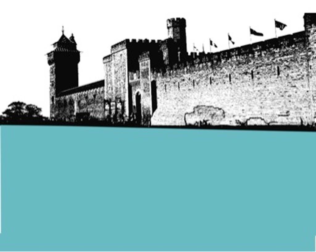 Jacky Al-Samarraie Cardiff Castle Greeting Card
