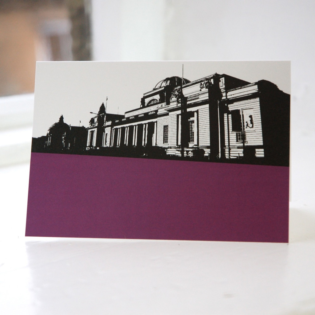 Jacky Al-Samarraie National Museum - Cardiff Greeting Card