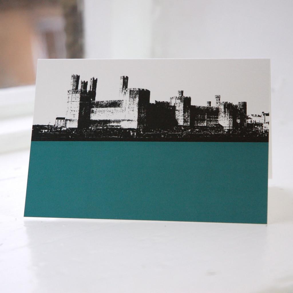 Jacky Al-Samarraie Caernarfon Castle Greeting Card