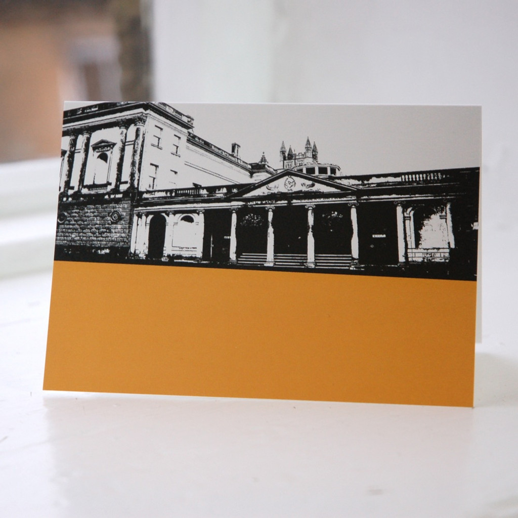 Jacky Al-Samarraie Kings & Queens Baths - Bath Greeting Card