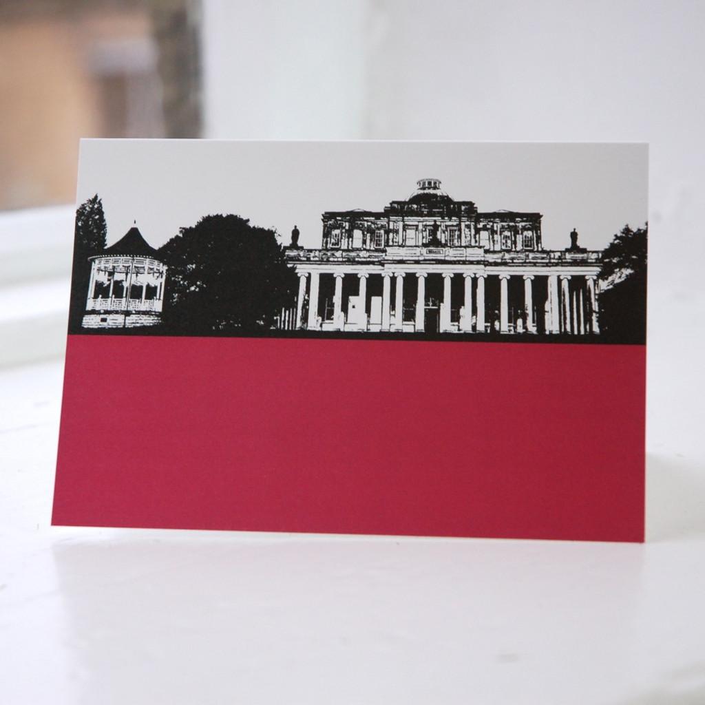 Jacky Al-Samarraie Pittville Pump Room - Cheltenham Greeting Card