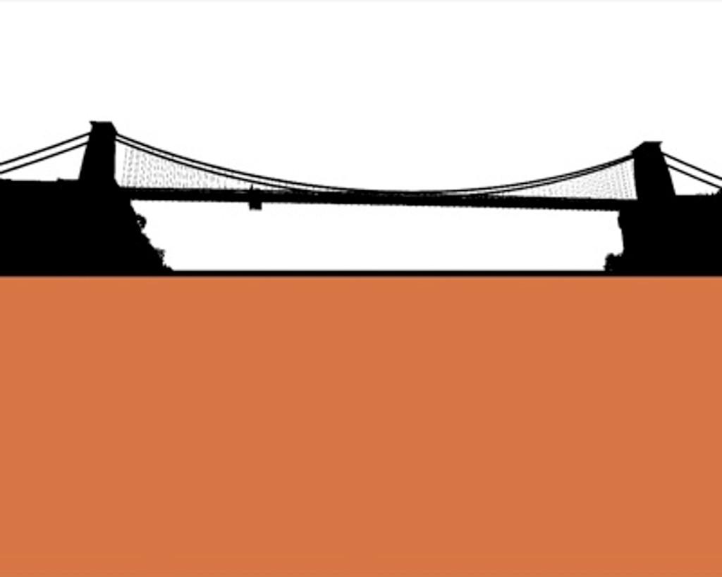 Jacky Al-Samarraie Clifton Suspension Bridge Greeting Card