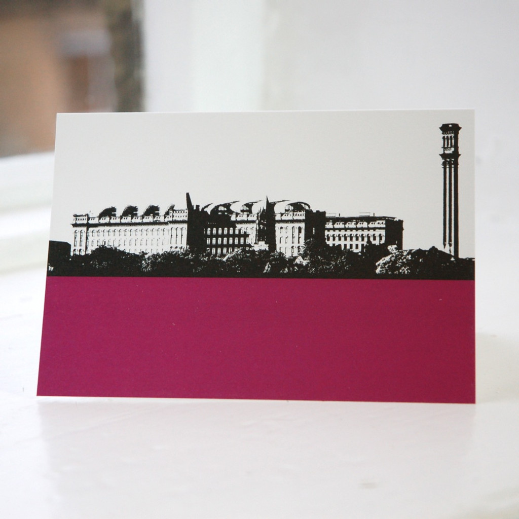 Jacky Al-Samarraie Lister's Mill - Bradford Greeting Card