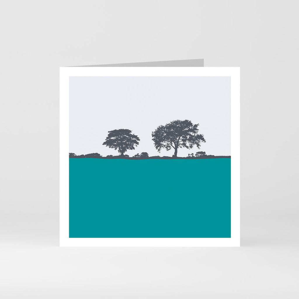 Jacky Al-Samarraie Anglesey Greeting Card