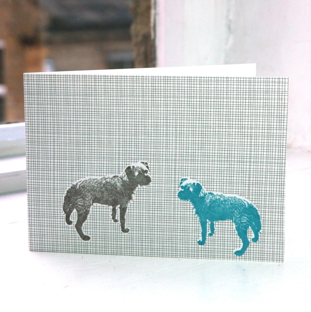 Jacky Al-Samarraie Tess the Dog Greeting Card