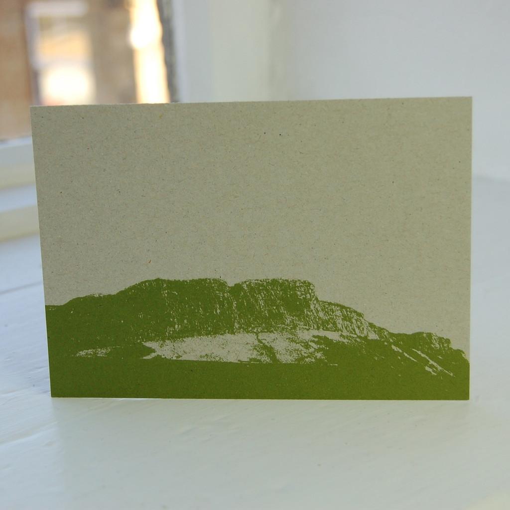 Jacky Al-Samarraie Salisbury Crags Postcard