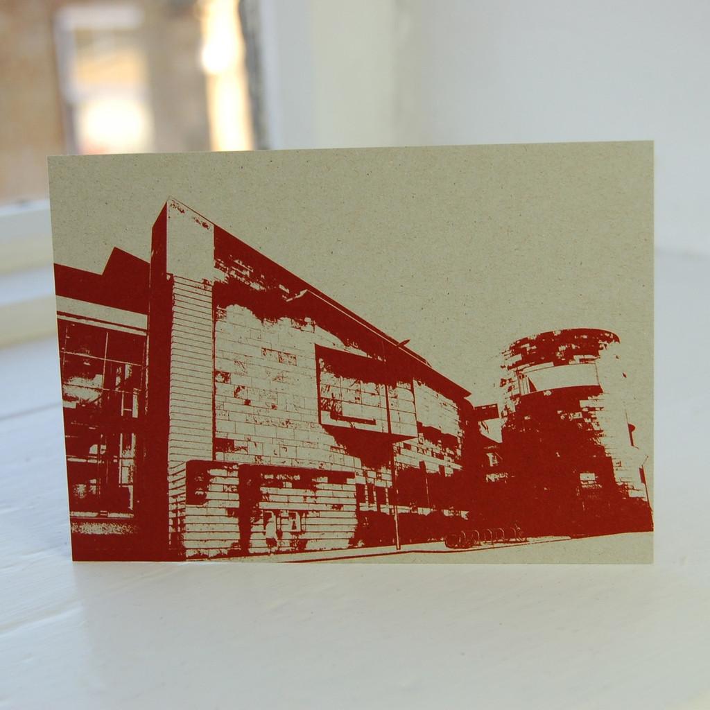 Jacky Al-Samarraie National Museum of Scotland Red Postcard