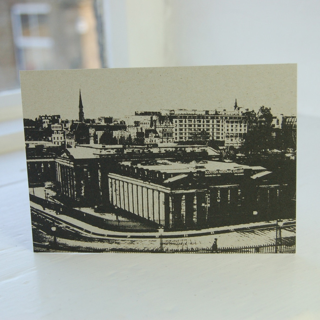 Jacky Al-Samarraie National Gallery of Scotland Postcard
