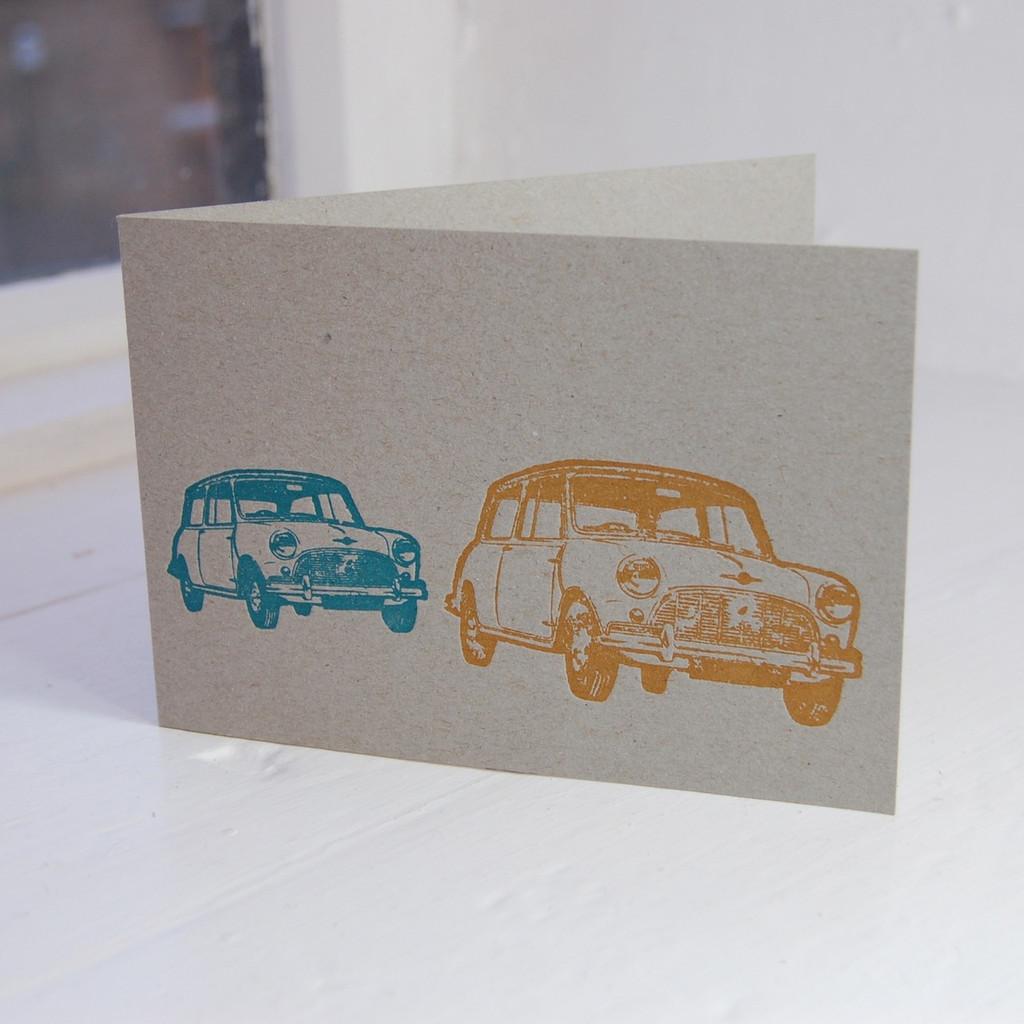 Jacky Al-Samarraie Mini Letterpress Greeting Card