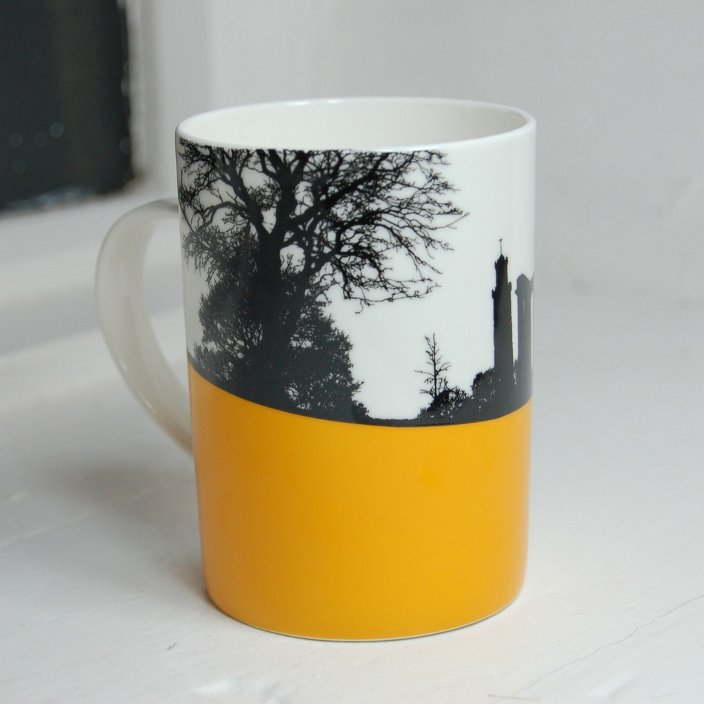 Jacky Al-Samarraie National Monument Bone China Mug