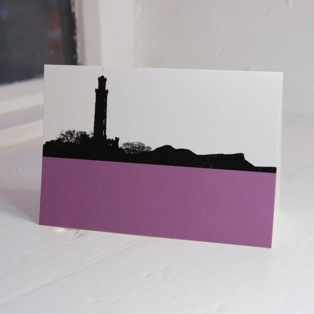 Jacky Al-Samarraie Nelsons Monument Greeting Card
