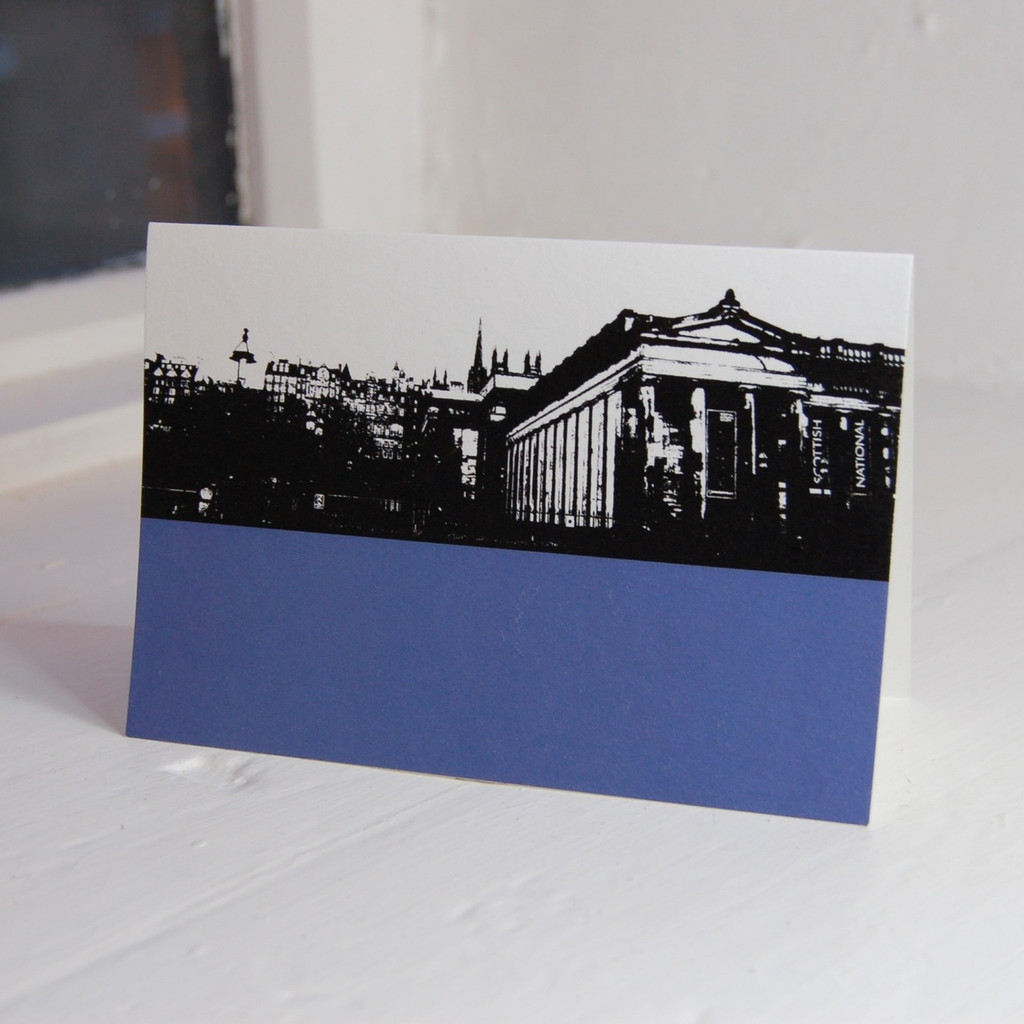 Jacky Al-Samarraie Scottish National Gallery Greeting Card