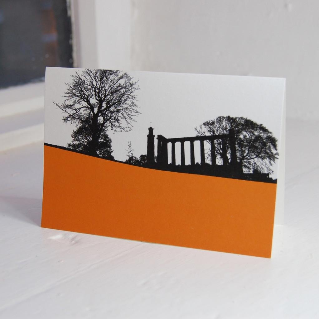 Jacky Al-Samarraie National Monument Greeting Card