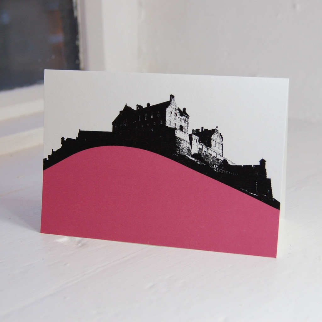 Jacky Al-Samarraie Edinburgh Castle Greeting Card