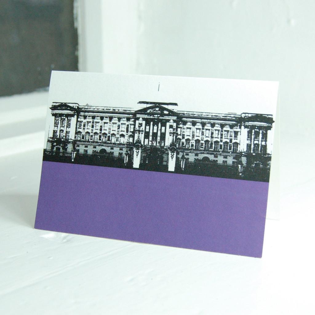 Jacky Al-Samarraie Buckingham Palace Greeting Card