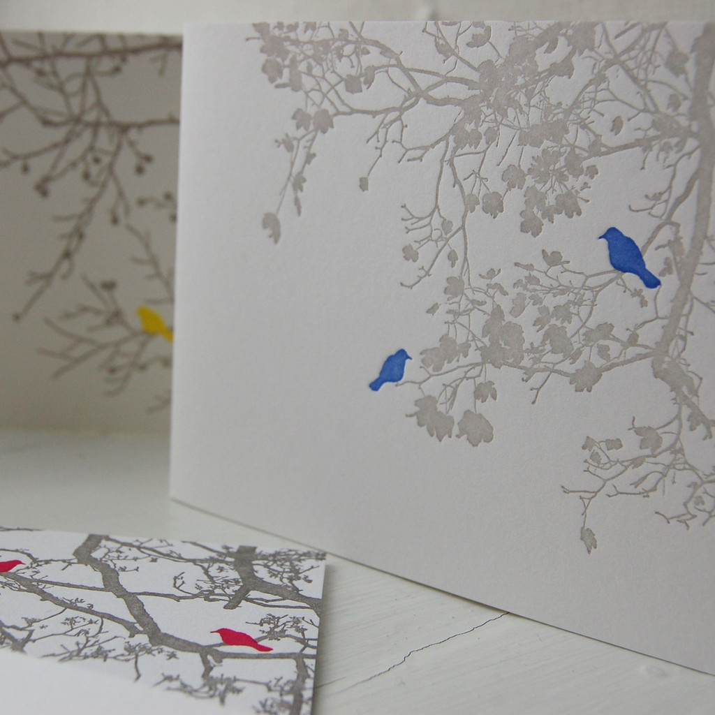 Jacky Al-Samarraie Letterpress Greeting Cards - Pack Two
