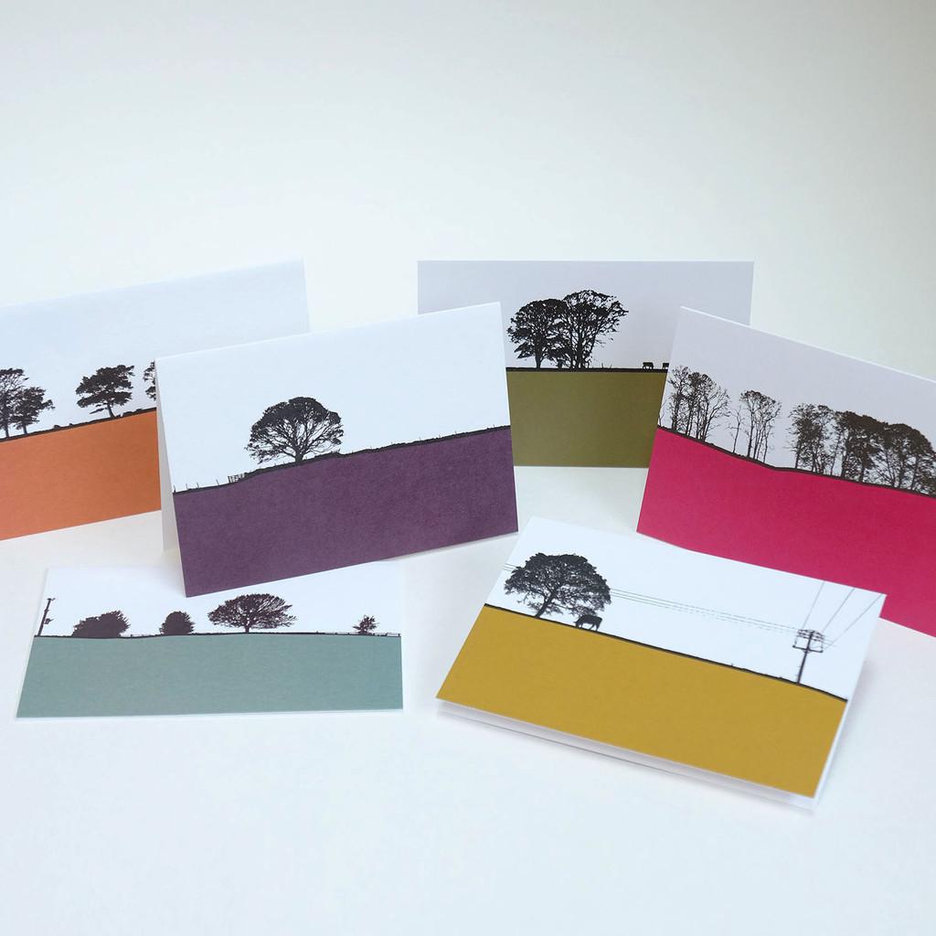 Rural British Landscape Card Pack One by Jacky Al-Samarraie