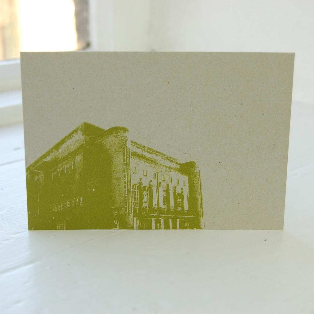 Jacky Al-Samarraie Liverpool Philharmonic Postcard