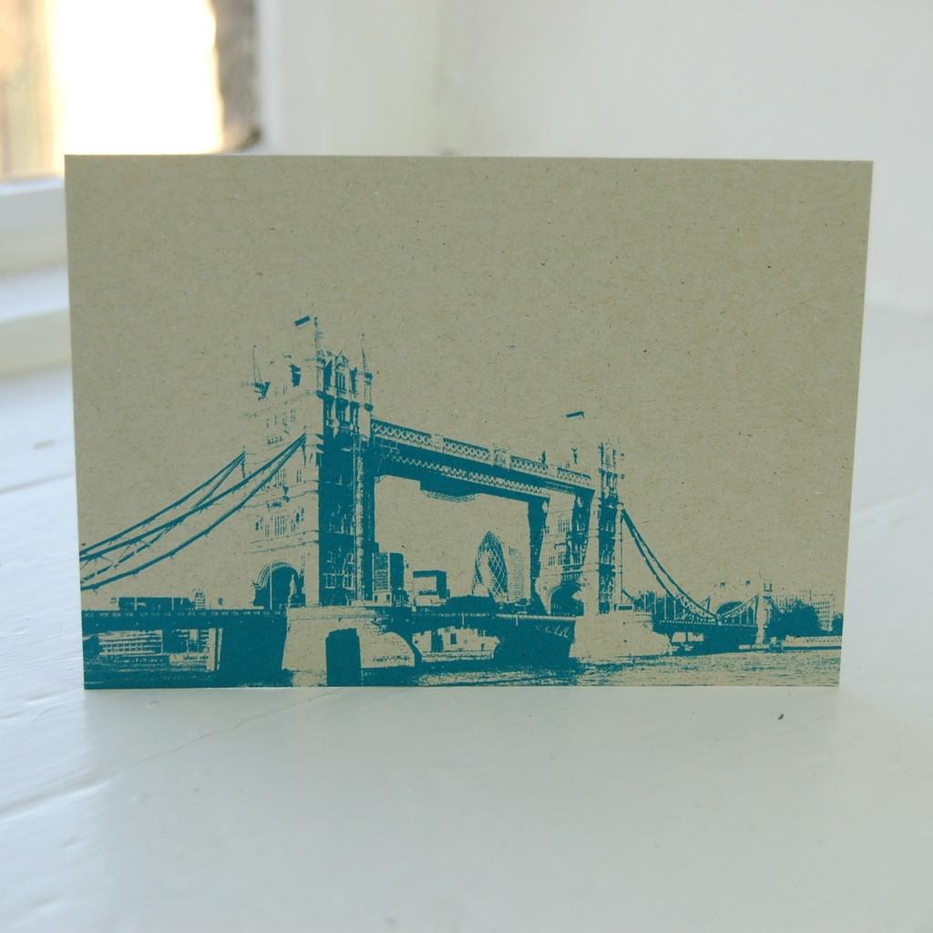 Jacky Al-Samarraie Tower Bridge Postcard
