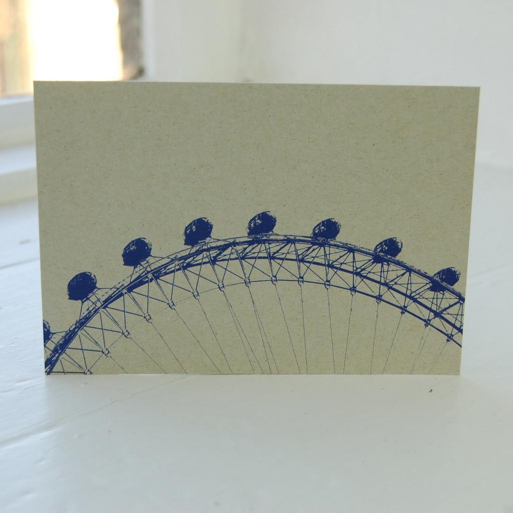 Jacky Al-Samarraie London Eye Postcard