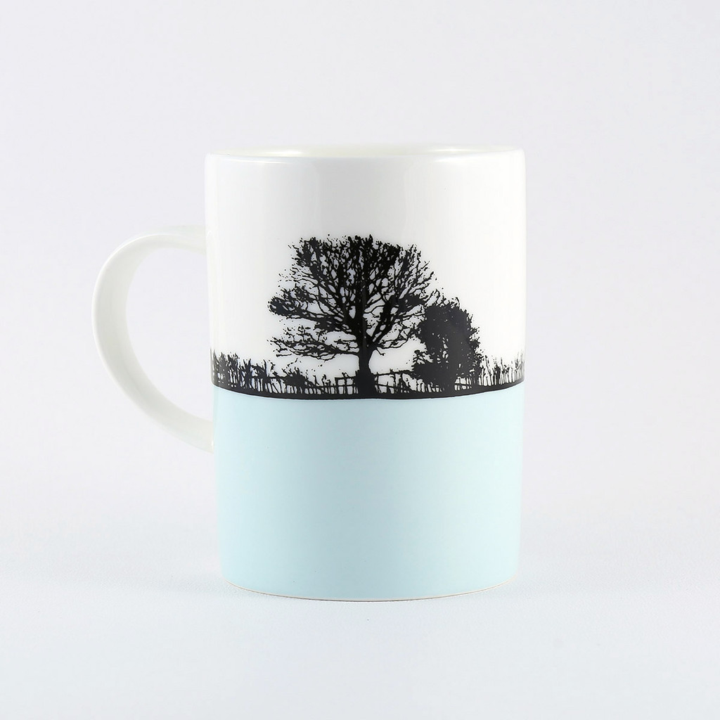 Yorkshire landscape mug, Pool in Wharfedale by The Art Rooms