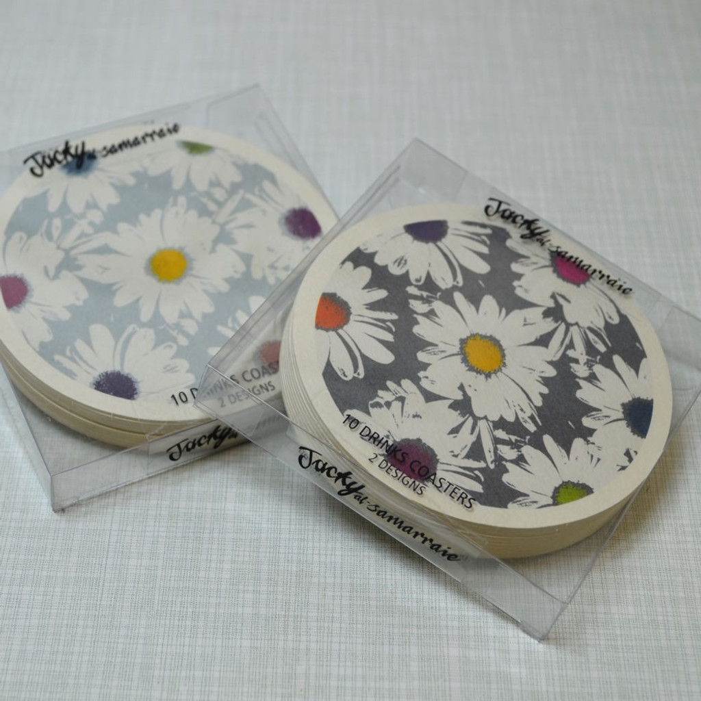 Jacky Al-Samarraie Daisy Drinks Coaster Set