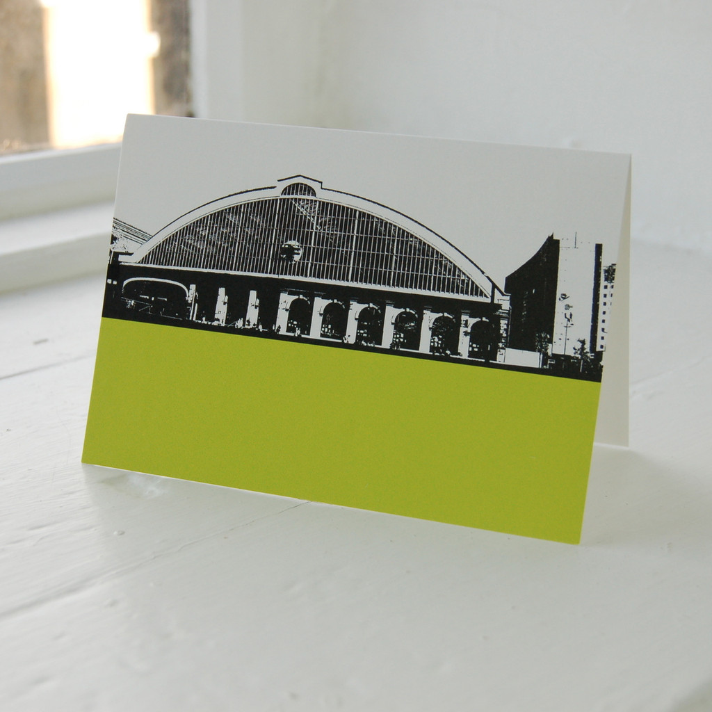 Jacky Al-Samarraie Lime Street Station Greeting Card