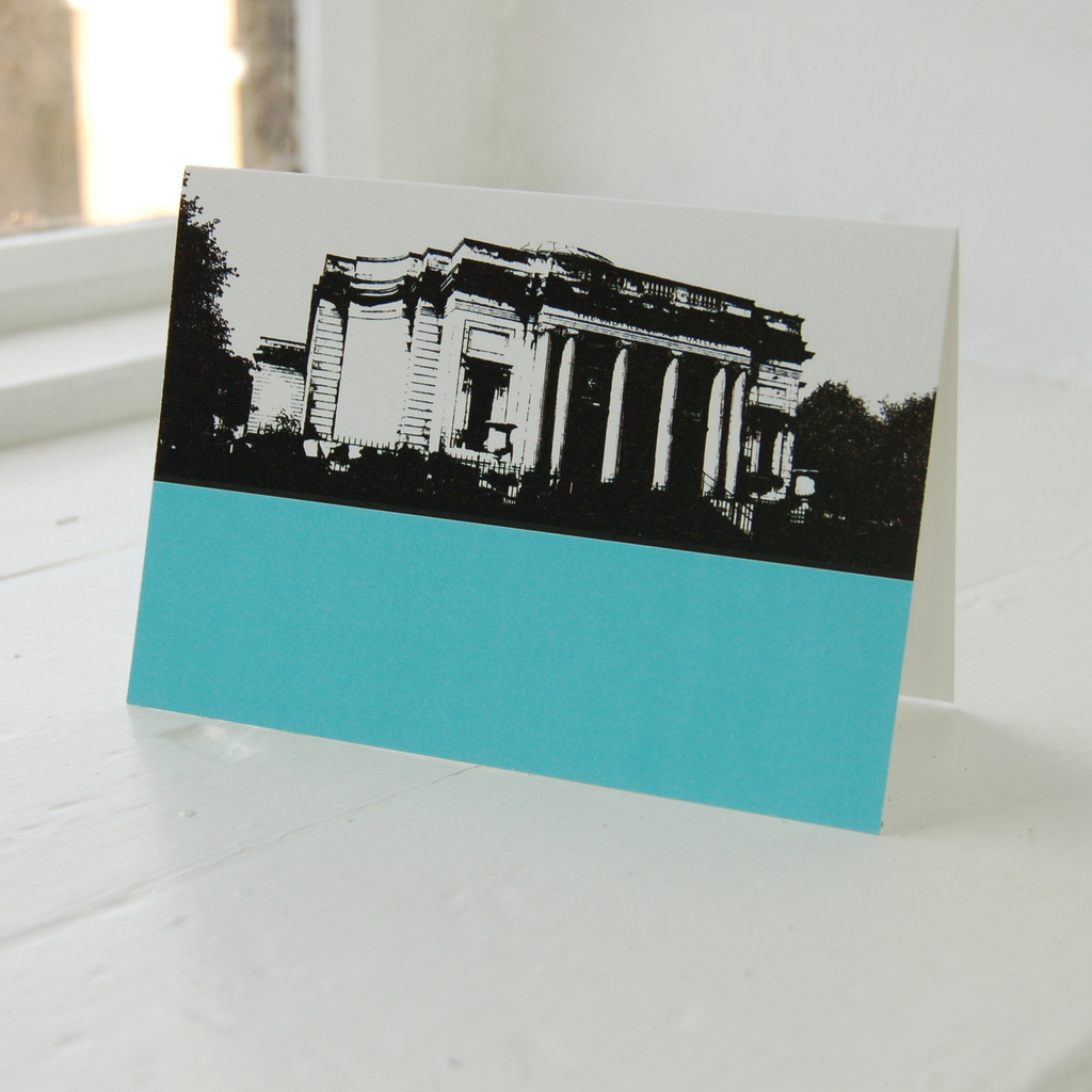 Jacky Al-Samarraie Lady Lever Art Gallery Greeting Card