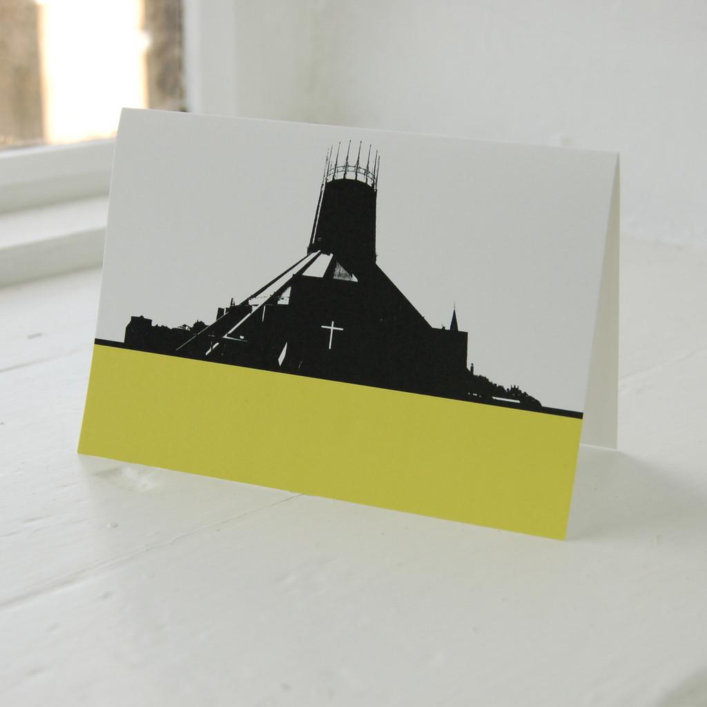 Jacky Al-Samarraie Liverpool Metropolitan Cathedral Greeting Card