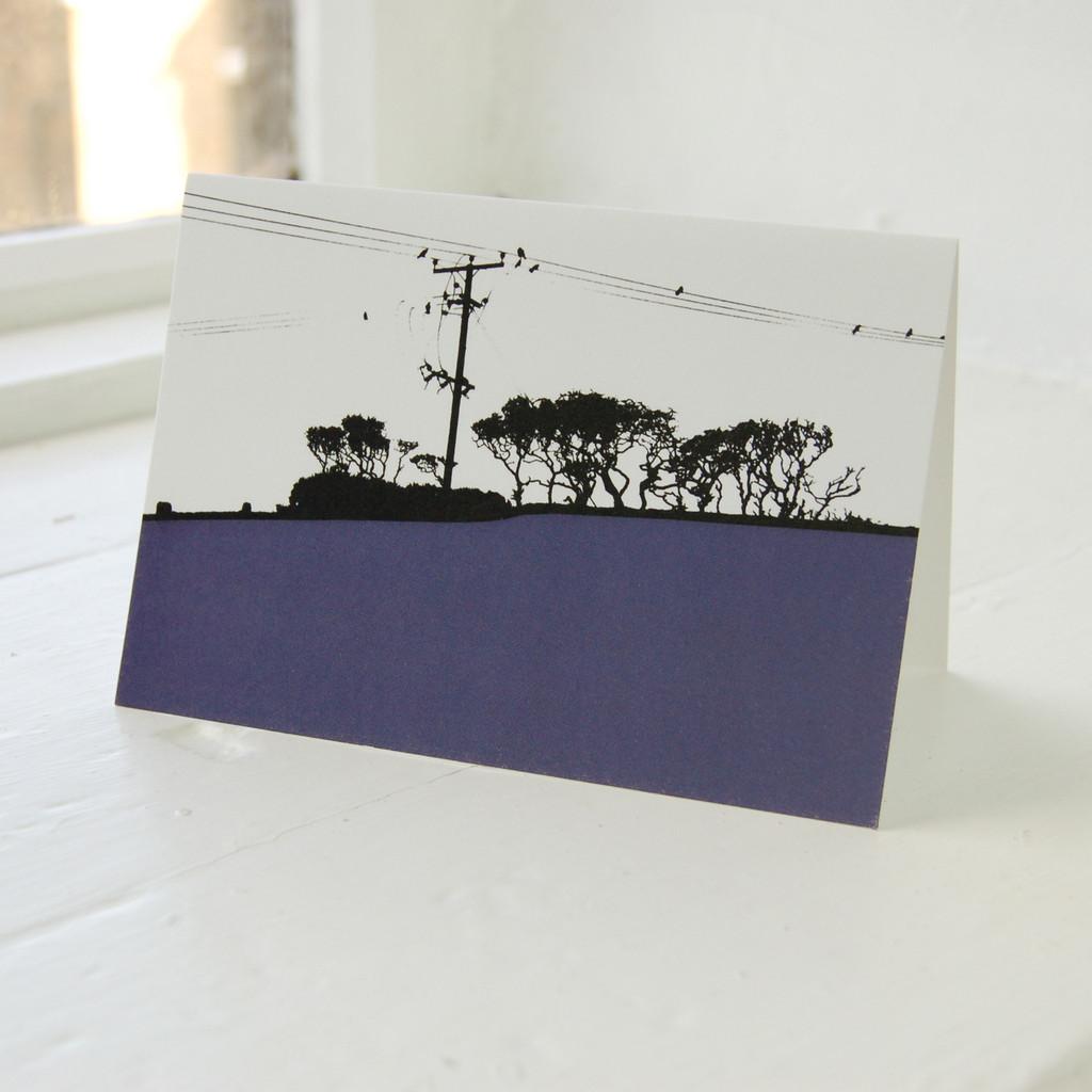 Jacky Al-Samarraie Dumfries & Galloway - Galloway Forest Greeting Card