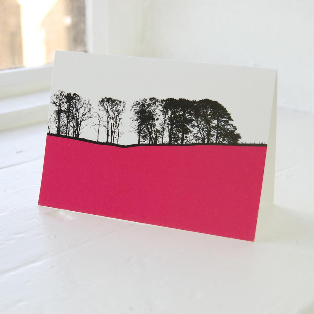 Jacky Al-Samarraie Dales - Linton Greeting Card