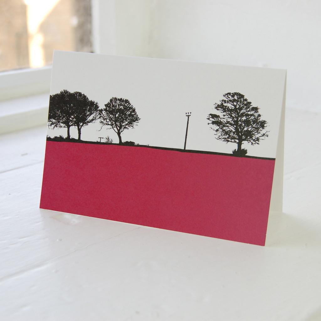 Jacky Al-Samarraie Leeds - Calverley Greeting Card