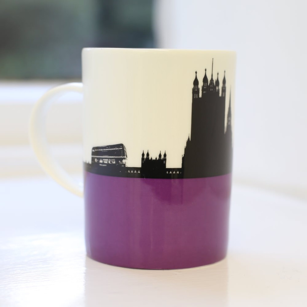 Jacky Al-Samarraie Houses of Parliament Bone China Mug