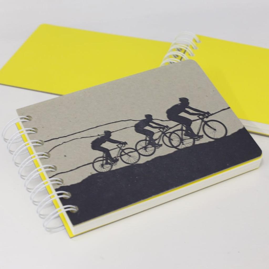 Jacky Al-Samarraie Cycle Race Notebook One