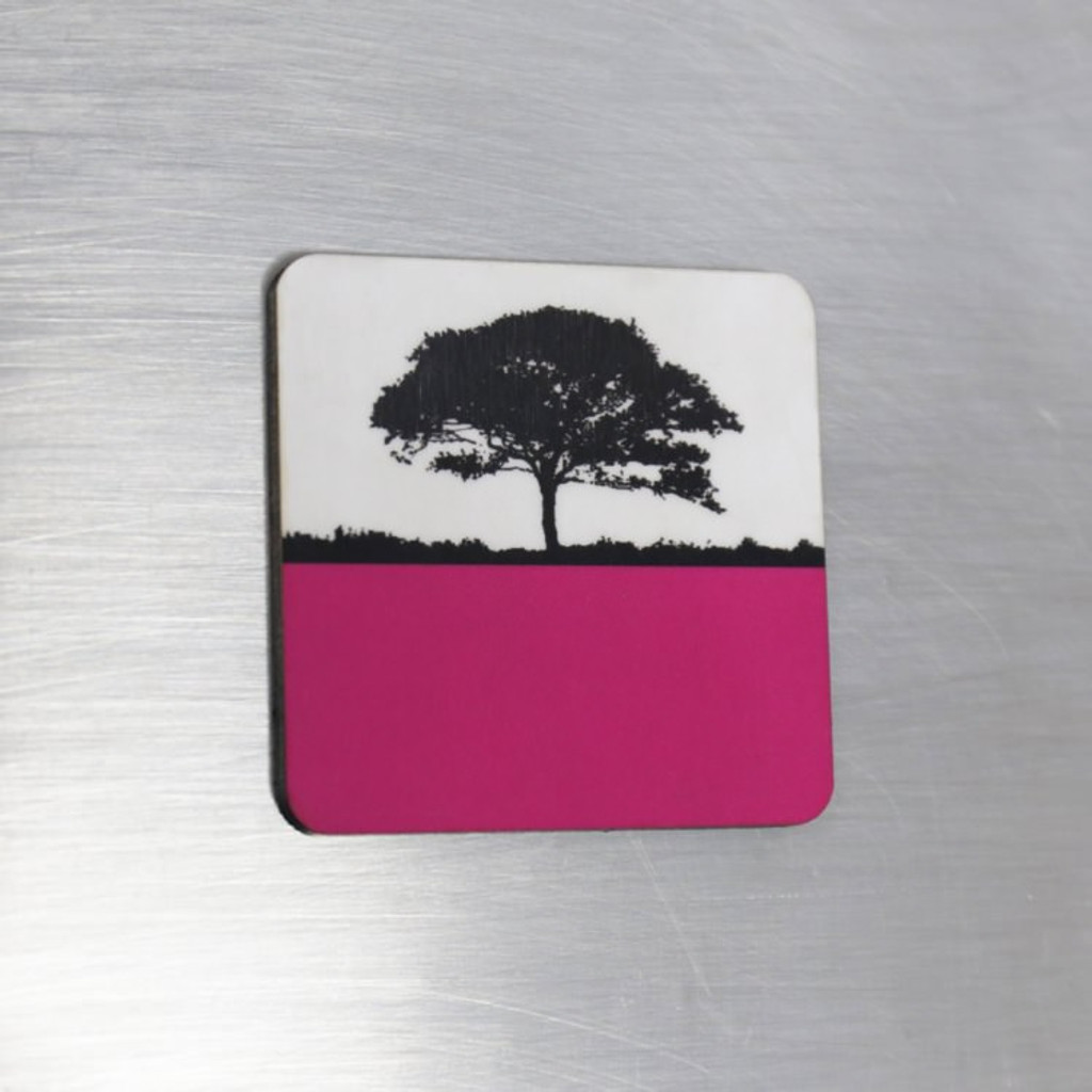 Jacky Al-Samarraie Fridge Magnet - Pink