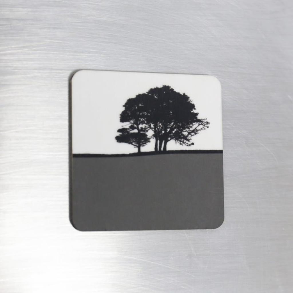 Jacky Al-Samarraie Fridge Magnet - Grey