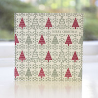 Jacky Al-Samarraie Pack of 8 Letterpress Christmas Cards