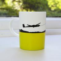 Jacky Al-Samarraie Gliding Bone China Mug