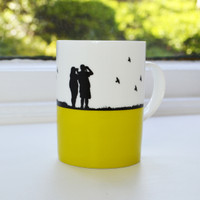 Jacky Al-Samarraie Birdwatching Bone China Mug