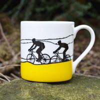 Jacky Al-Samarraie The Race Yellow Jersey Mug - Slight Second