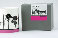 Jacky Al-Samarraie Pink Landscape Tree Bone China Mug with Gift Box