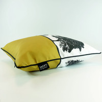 Tree Landscape Cushion by Jacky Al-Samarraie